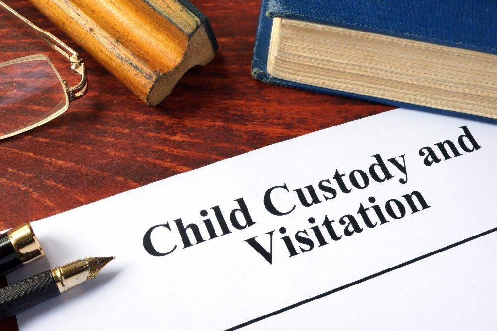 Child Custody and Visitation written